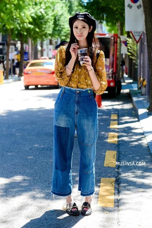 Giới trẻ Hàn lại mang đến cả tá gợi ý mặc đẹp mà chẳng cần cầu kỳ qua street style mãn nhãn - Ảnh 10.