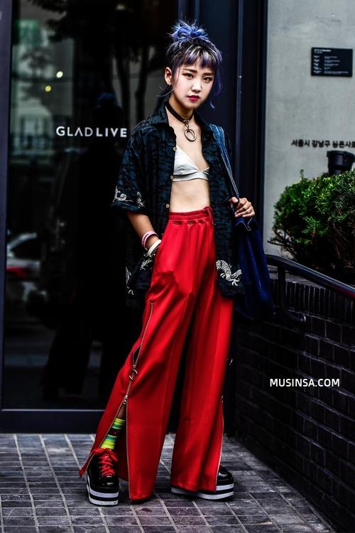 Ngắm street style Hàn Quốc đẹp phát mê, bạn sẽ dạt dào động lực mặc đẹp ngay! - Ảnh 10.