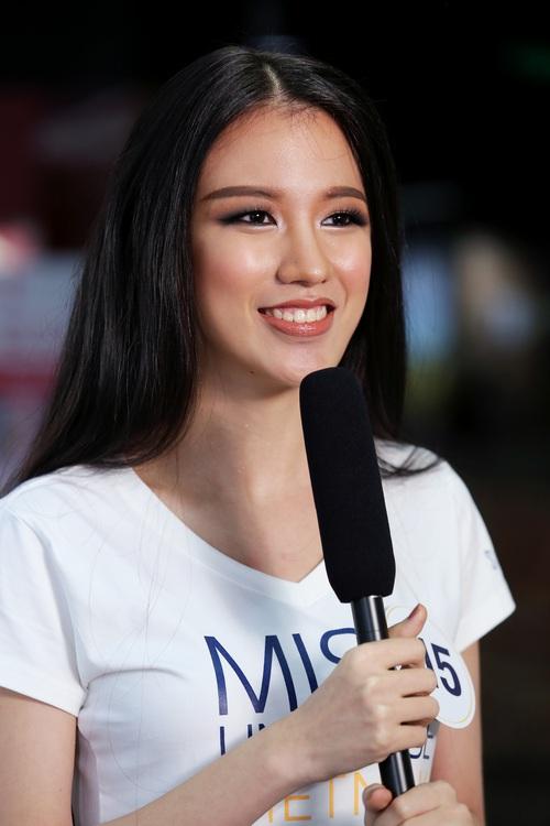 Nhan sắc 10 người đẹp đầu tiên lọt vào Bán kết Hoa hậu Hoàn vũ Việt Nam 2017 - Ảnh 16.