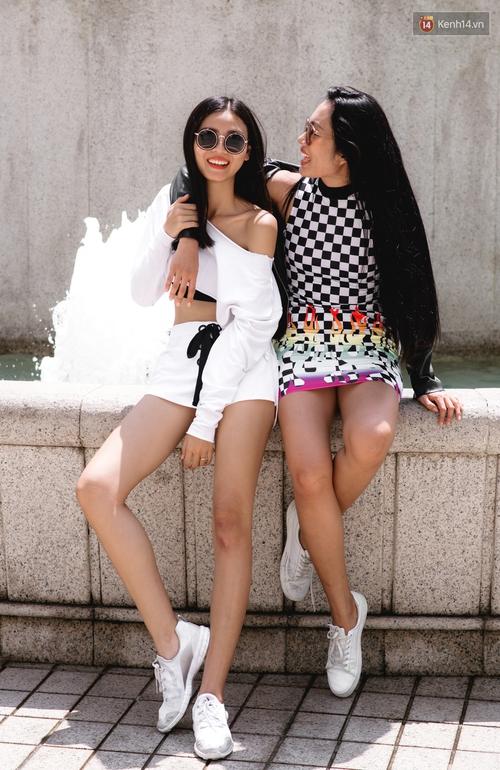Street style chẳng cần lồng lộn, cứ cao và gầy thì đơn giản cũng thành mặc đẹp của mẫu Việt tuần qua - Ảnh 15.