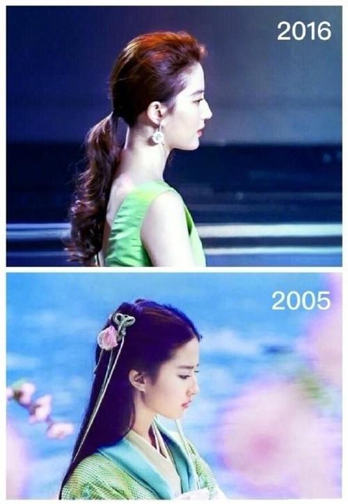 Cùng 1 góc chụp, nhan sắc Lưu Diệc Phi trước và sau 11 năm vẫn đẹp xuất sắc, lấn át Angela Baby - Dương Mịch - Ảnh 6.