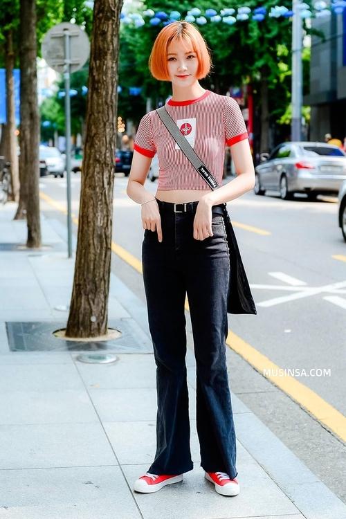 Ngắm street style Hàn Quốc đẹp phát mê, bạn sẽ dạt dào động lực mặc đẹp ngay! - Ảnh 2.