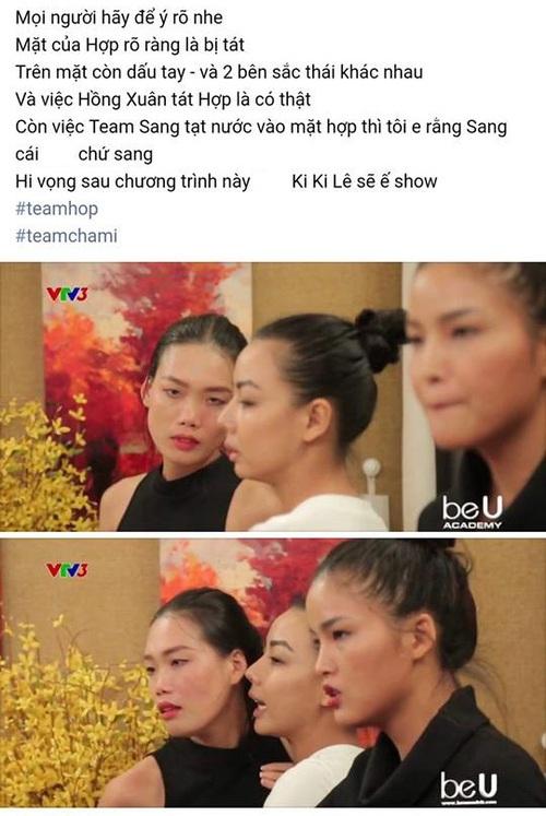 """""""Next Top Model 2017"""" tập 4: Nghi vấn Nguyễn Hợp - Hồng Xuân tát nhau đến gãy mũi - Ảnh 5."""