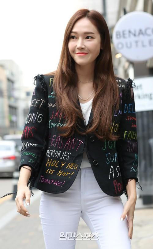 Jessica Jung đi sự kiện: Giản dị mà vẫn sang chảnh được mới hay - Ảnh 1.