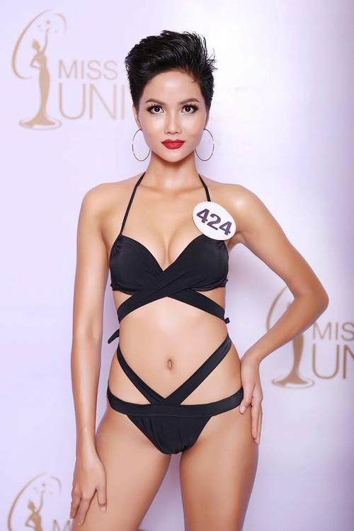 Cận cảnh hình ảnh bikini của Hoàng Thùy, Mâu Thủy, Mai Ngô... tại Hoa hậu Hoàn vũ, ai nuột nhất? - Ảnh 7.