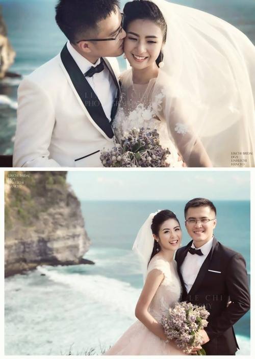 Hậu đám cưới cổ tích với Trung Tín, Thu Thảo hào hứng ném hoa cưới cho bạn thân Ngọc Hân - Ảnh 2.