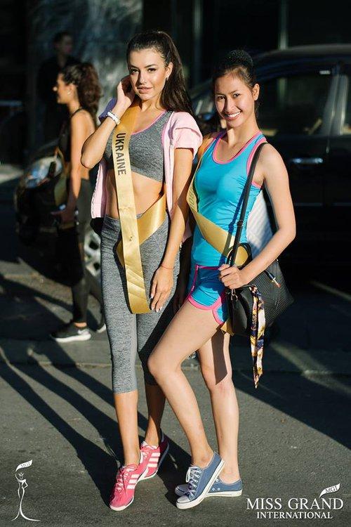 Thí sinh Miss Grand Internationnal 2017 lộ thân hình kém săn chắc - Ảnh 9.