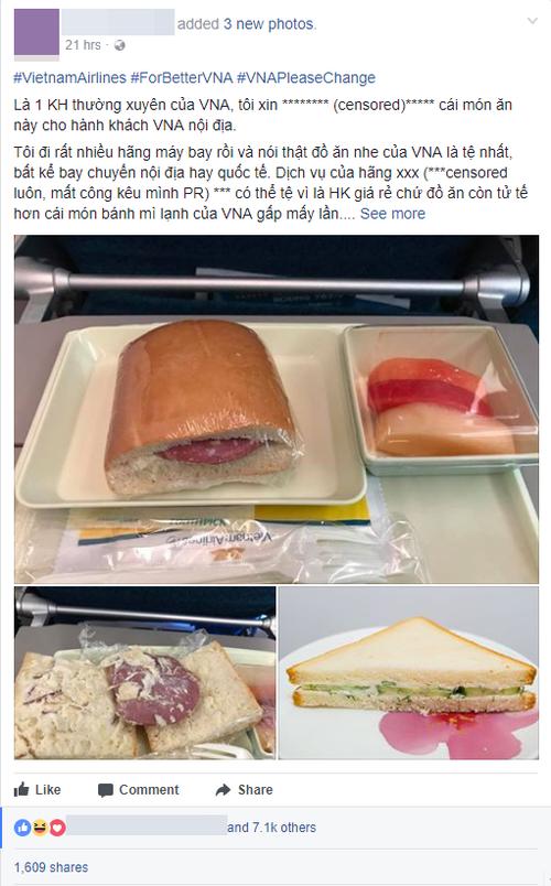 Chất lượng bữa ăn nhẹ của Vietnam Airlines và cách chê bai gây tranh cãi của một hành khách - Ảnh 4.
