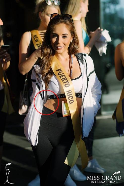 Thí sinh Miss Grand Internationnal 2017 lộ thân hình kém săn chắc - Ảnh 2.