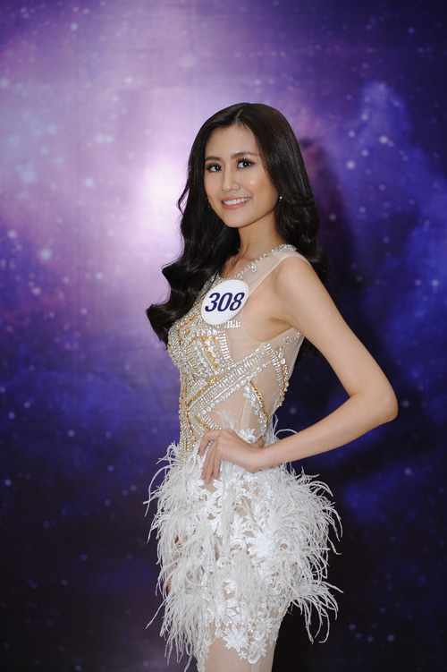 Nhan sắc 10 người đẹp đầu tiên lọt vào Bán kết Hoa hậu Hoàn vũ Việt Nam 2017 - Ảnh 14.