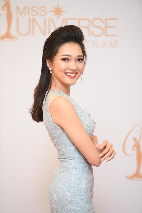 Nhan sắc 10 người đẹp đầu tiên lọt vào Bán kết Hoa hậu Hoàn vũ Việt Nam 2017 - Ảnh 7.