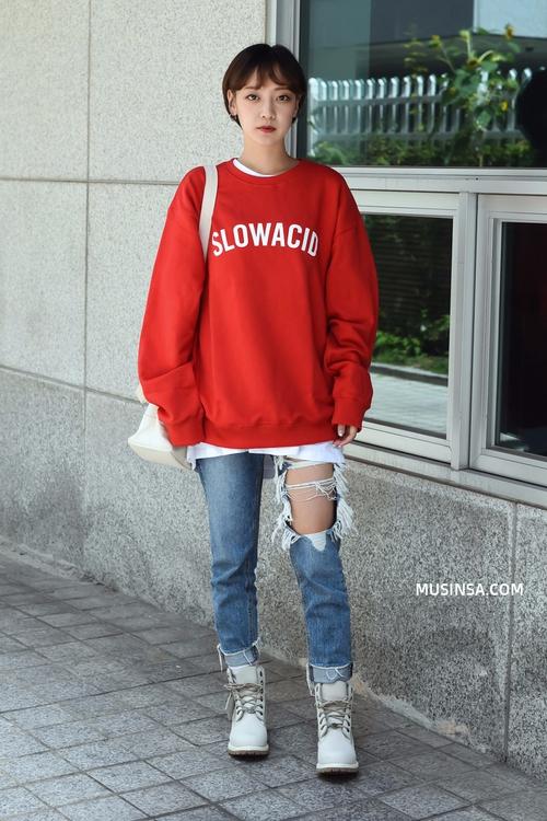 Giới trẻ Hàn lại mang đến cả tá gợi ý mặc đẹp mà chẳng cần cầu kỳ qua street style mãn nhãn - Ảnh 6.