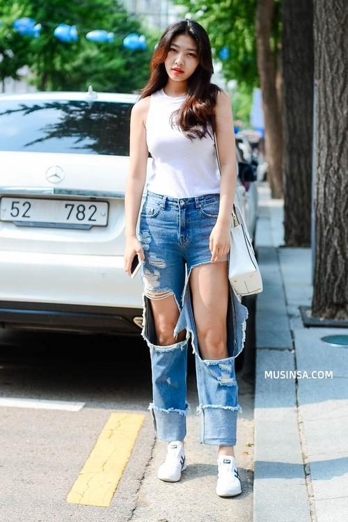 Ngắm street style Hàn Quốc đẹp phát mê, bạn sẽ dạt dào động lực mặc đẹp ngay! - Ảnh 7.