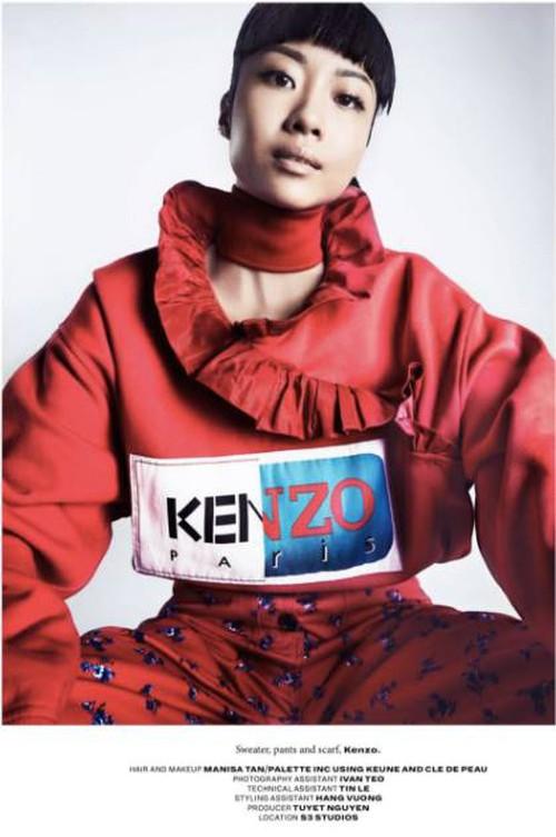 Hết làm KOLS cho H&M, Suboi lại lên trang bìa tạp chí danh tiếng của Singapore - Ảnh 8.