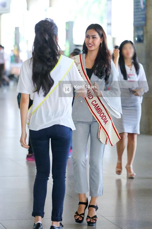 Huyền My đọ sắc cùng Miss Cambodia ở Hoa hậu Hòa bình Thế giới 2017, ai đẹp hơn ai? - Ảnh 6.