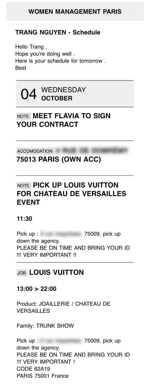 Độc quyền: Thùy Trang là mẫu Việt đầu tiên diễn cho show thứ 2 của ông lớn Louis Vuitton tại Paris Fashion Week - Ảnh 4.