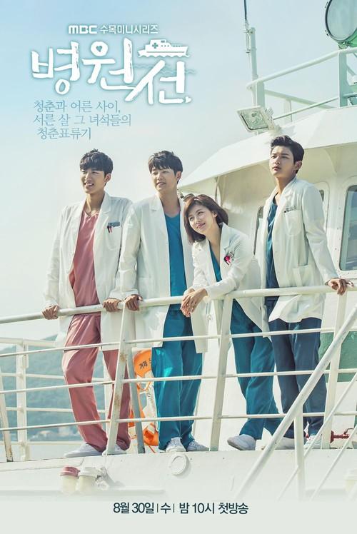 Hospital Ship - Tác phẩm y khoa rất đáng xem của Ha Ji Won - Ảnh 1.