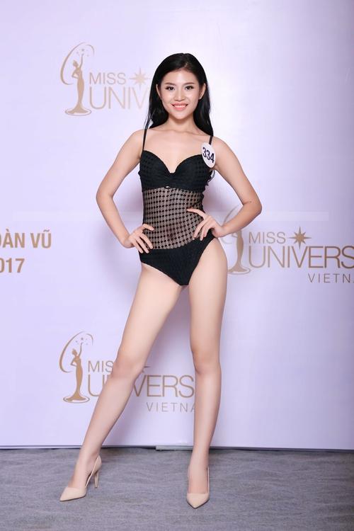 Cận cảnh hình ảnh bikini của Hoàng Thùy, Mâu Thủy, Mai Ngô... tại Hoa hậu Hoàn vũ, ai nuột nhất? - Ảnh 5.
