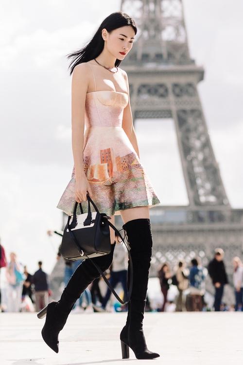 Diện trang phục của NTK Việt, street style của Thùy Trang vẫn lên thẳng Vogue Ý - Ảnh 10.