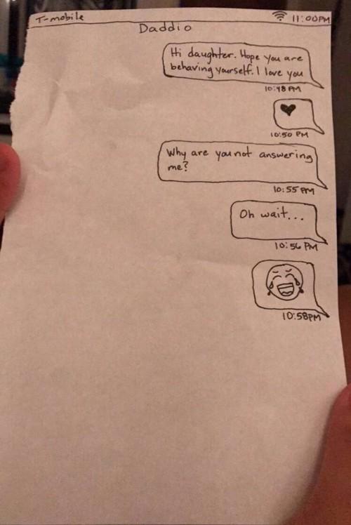 Tịch thu điện thoại của con gái, ông bố này còn troll thêm khiến cư dân mạng cười nghiêng ngả - Ảnh 3.