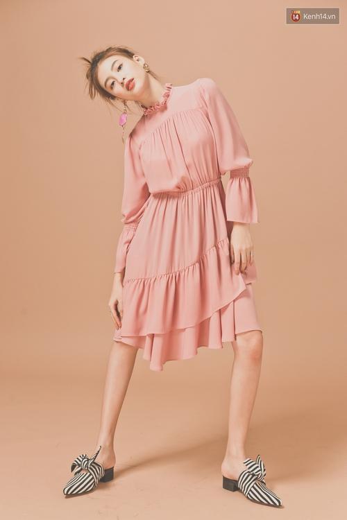 Với 5 công thức này, diện váy bèo nhún chẳng còn sến mà lại trendy vô cùng - Ảnh 7.