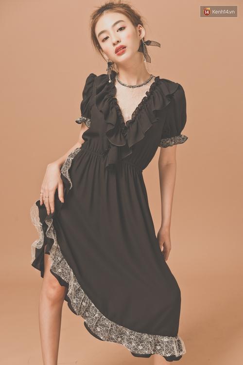 Với 5 công thức này, diện váy bèo nhún chẳng còn sến mà lại trendy vô cùng - Ảnh 14.