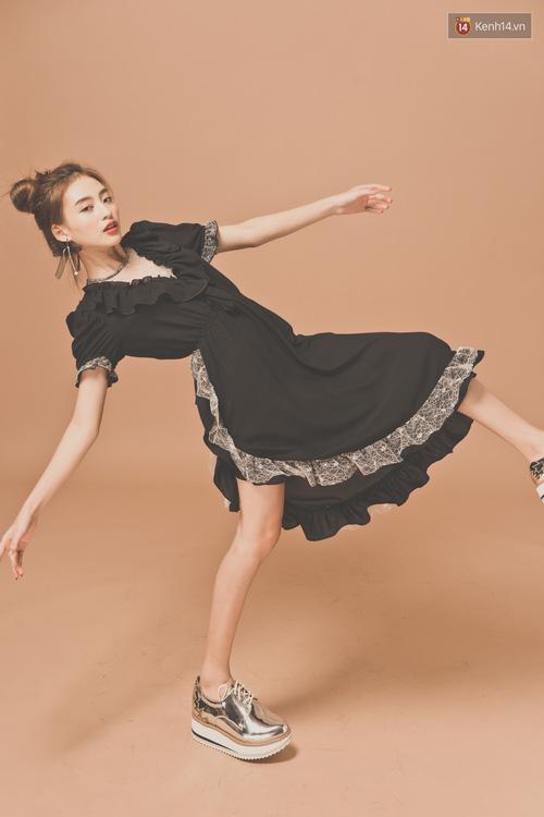 Với 5 công thức này, diện váy bèo nhún chẳng còn sến mà lại trendy vô cùng - Ảnh 15.
