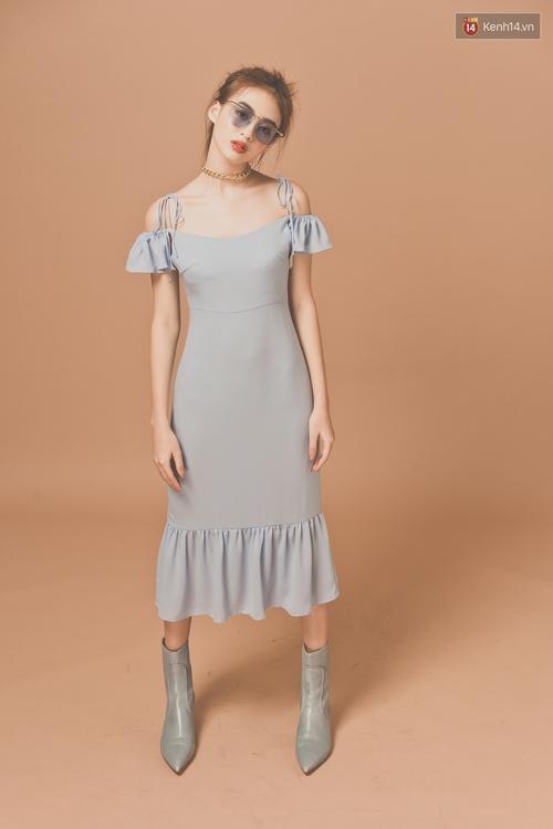 Với 5 công thức này, diện váy bèo nhún chẳng còn sến mà lại trendy vô cùng - Ảnh 10.