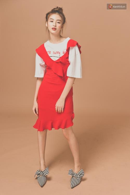 Với 5 công thức này, diện váy bèo nhún chẳng còn sến mà lại trendy vô cùng - Ảnh 4.