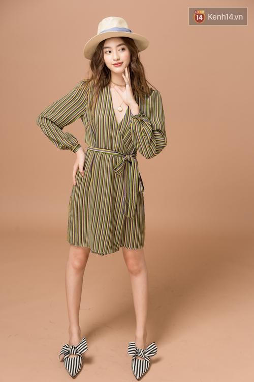 Diện 5 kiểu váy thắt nơ này, nàng nào cũng tươi xinh ngọt ngào lên vài chân kính - Ảnh 15.
