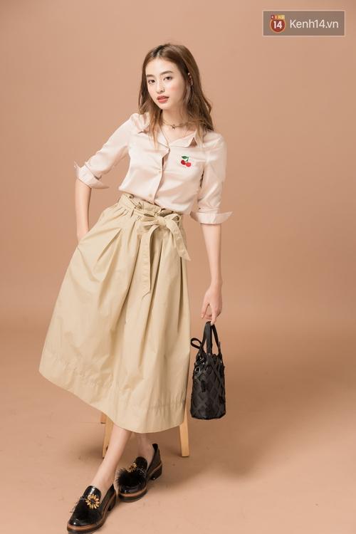 Diện 5 kiểu váy thắt nơ này, nàng nào cũng tươi xinh ngọt ngào lên vài chân kính - Ảnh 9.