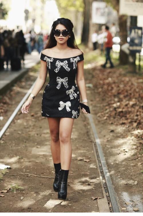 Hóa ra Thảo Tiên - em chồng Hà Tăng mới là mỹ nhân Việt càn quét front-row từ London đến Milan Fashion Week - Ảnh 2.