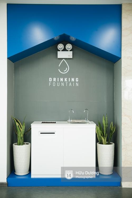 Máy uống nước thôi mà cũng phải xinh xắn nữa