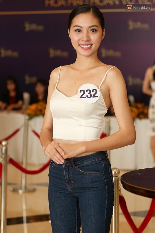 Hoa dâm bụt Hoàng Thùy nổi bật rực rỡ trong buổi sơ khảo miền Nam Hoa hậu Hoàn vũ - Ảnh 11.