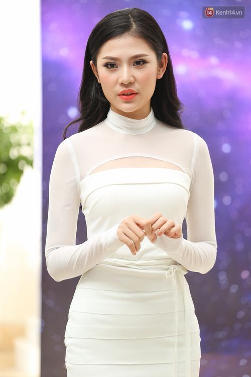 Hoa dâm bụt Hoàng Thùy nổi bật rực rỡ trong buổi sơ khảo miền Nam Hoa hậu Hoàn vũ - Ảnh 7.