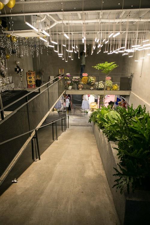 Những hình ảnh đầu tiên của The New Playground - khu mua sắm nằm dưới lòng đất đầu tiên của giới trẻ Sài Gòn - Ảnh 2.