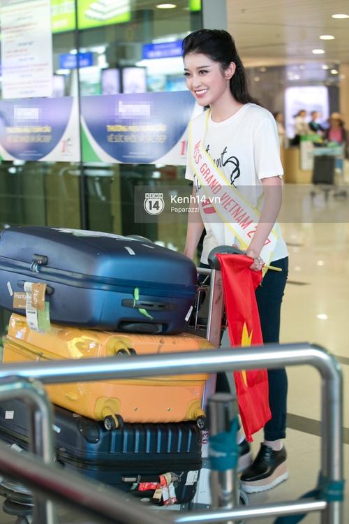 Huyền My đọ sắc cùng Miss Cambodia ở Hoa hậu Hòa bình Thế giới 2017, ai đẹp hơn ai? - Ảnh 2.
