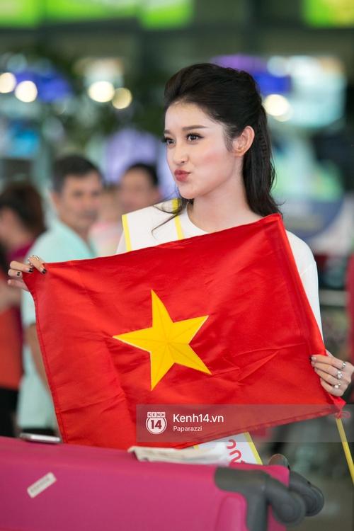 Huyền My đọ sắc cùng Miss Cambodia ở Hoa hậu Hòa bình Thế giới 2017, ai đẹp hơn ai? - Ảnh 12.