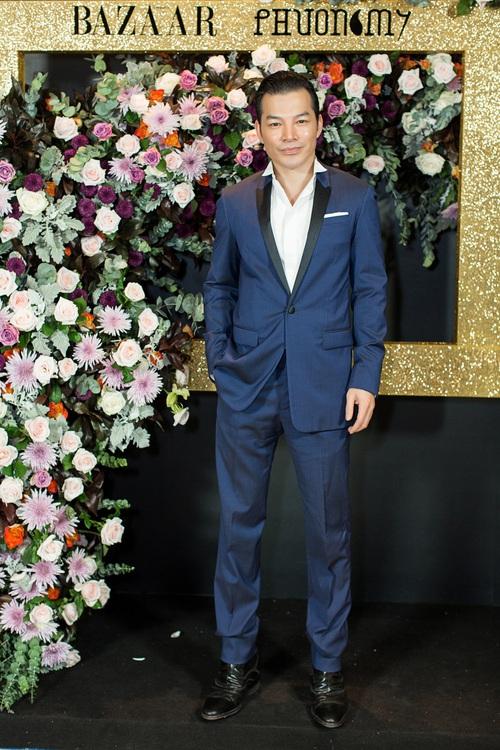 Hoàng Ku môi hồng chẳng kém các nàng Hậu, Kim Lý lịch lãm điển trai tại show diễn NTK Phương My - Ảnh 11.