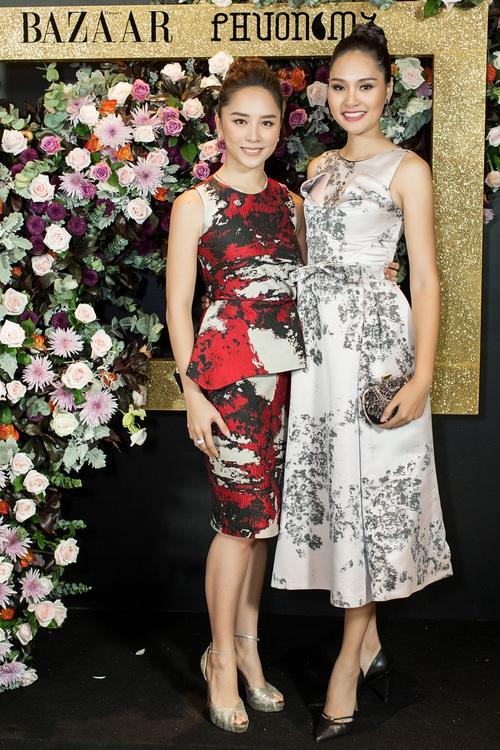 Hoàng Ku môi hồng chẳng kém các nàng Hậu, Kim Lý lịch lãm điển trai tại show diễn NTK Phương My - Ảnh 6.