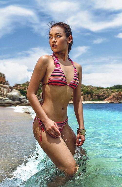 Chẳng biết vì sao mà cứ đi thi Hoa hậu Hoàn vũ là thân hình sao Việt này bỗng dưng trở nên khác hình bình thường? - Ảnh 15.