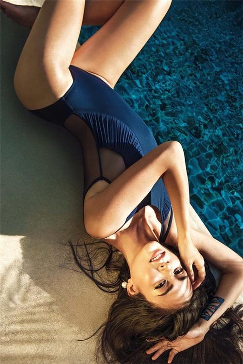 Chẳng biết vì sao mà cứ đi thi Hoa hậu Hoàn vũ là thân hình sao Việt này bỗng dưng trở nên khác hình bình thường? - Ảnh 7.