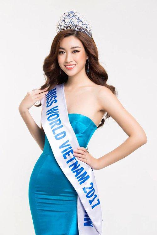 Ngay sự kiện công bố tham dự thi Hoa hậu Thế giới 2017, HH Đỗ Mỹ Linh đã bị dìm dáng - Ảnh 1.