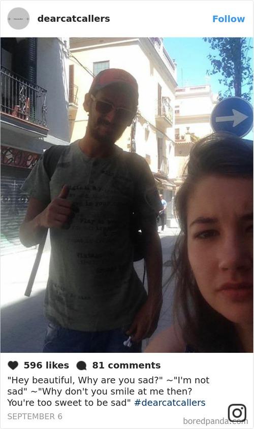 Đi đường bị trai ghẹo quá nhiều, cô gái tức mình selfie với tất cả rồi tung ảnh lên Instagram - Ảnh 8.