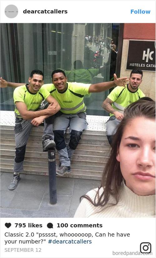 Đi đường bị trai ghẹo quá nhiều, cô gái tức mình selfie với tất cả rồi tung ảnh lên Instagram - Ảnh 10.