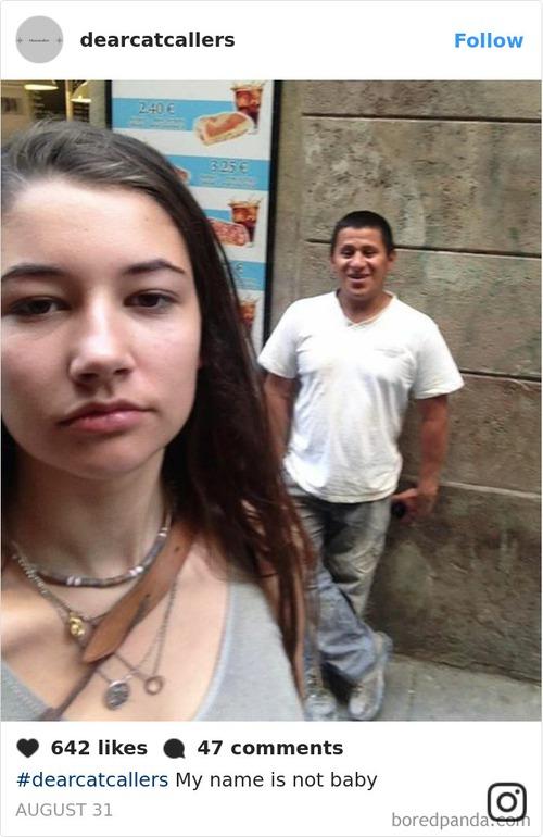 Đi đường bị trai ghẹo quá nhiều, cô gái tức mình selfie với tất cả rồi tung ảnh lên Instagram - Ảnh 2.