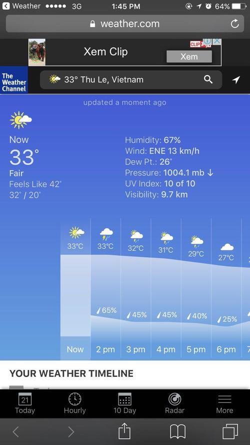 Hà Nội đang 33 độ nhưng nắng nóng, ngột ngạt như 42 độ vậy! - Ảnh 1.