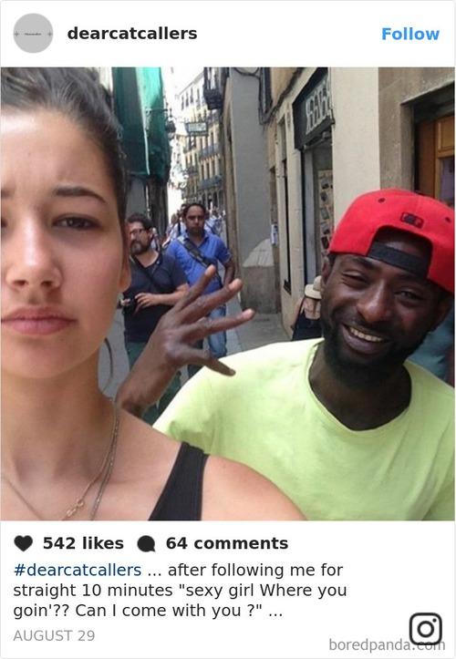 Đi đường bị trai ghẹo quá nhiều, cô gái tức mình selfie với tất cả rồi tung ảnh lên Instagram - Ảnh 3.