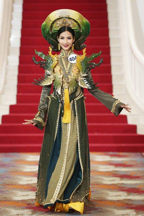 Đạt giải catwalk cũng không thể giúp Hoàng Thùy chiến thắng thử thách trong Tôi là Hoa hậu Hoàn vũ VN - Ảnh 3.