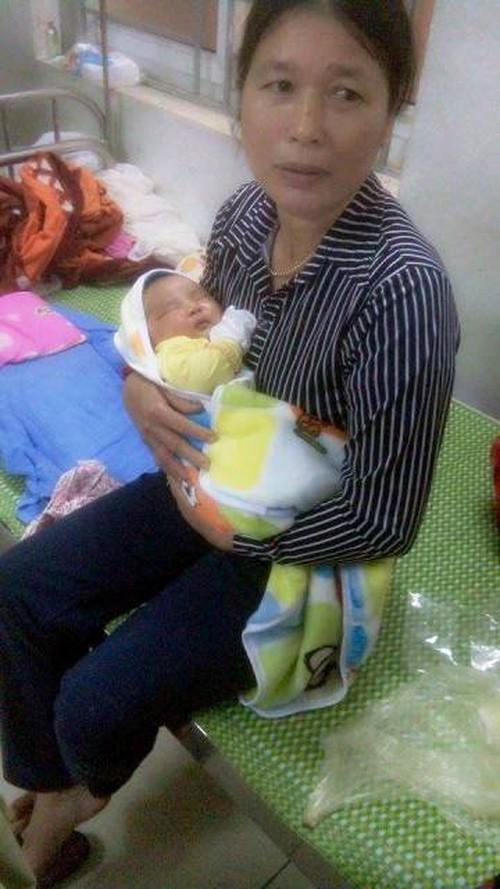 Một bé trai sơ sinh nặng tới 6,1kg vừa chào đời ở Nghệ An - Ảnh 1.